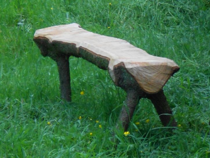 Chainsaw furniture